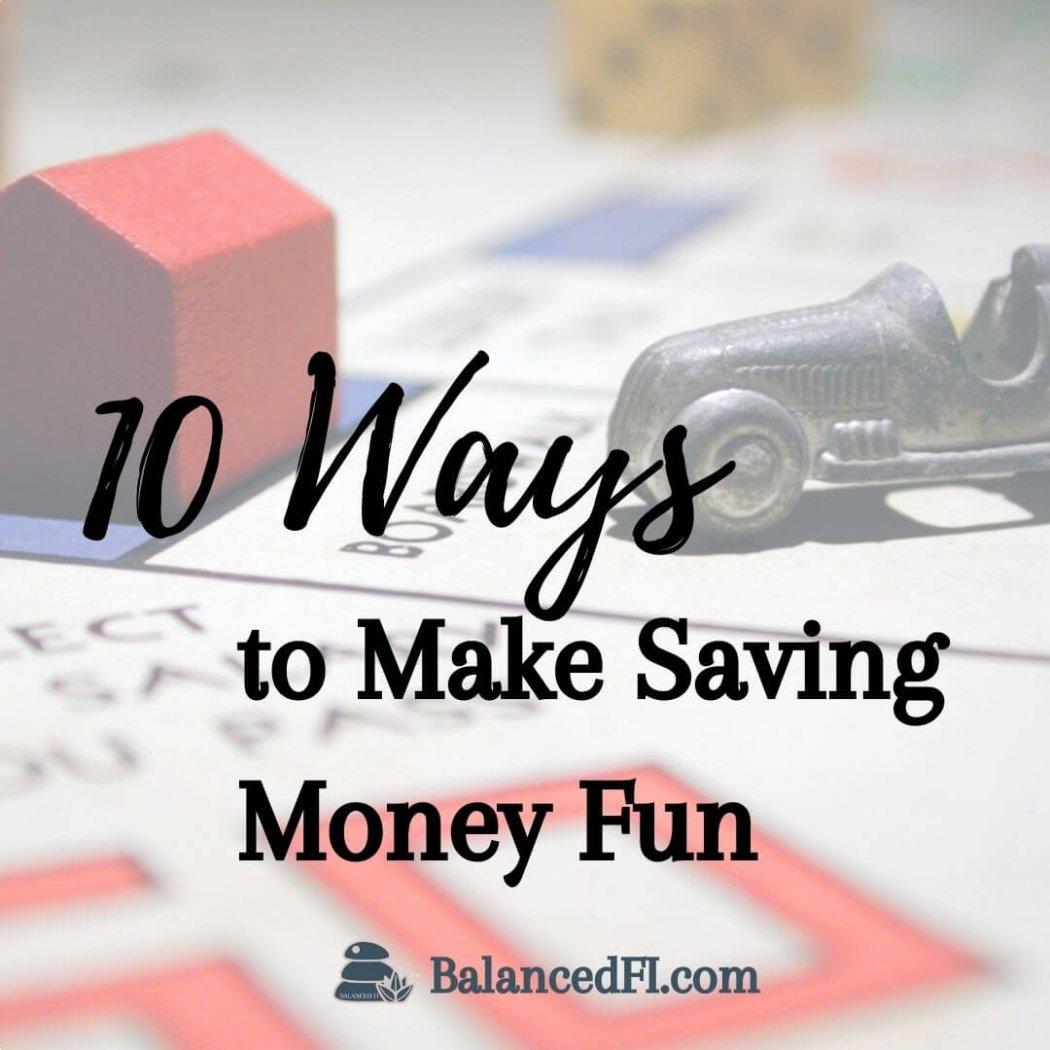 ways to make saving money fun