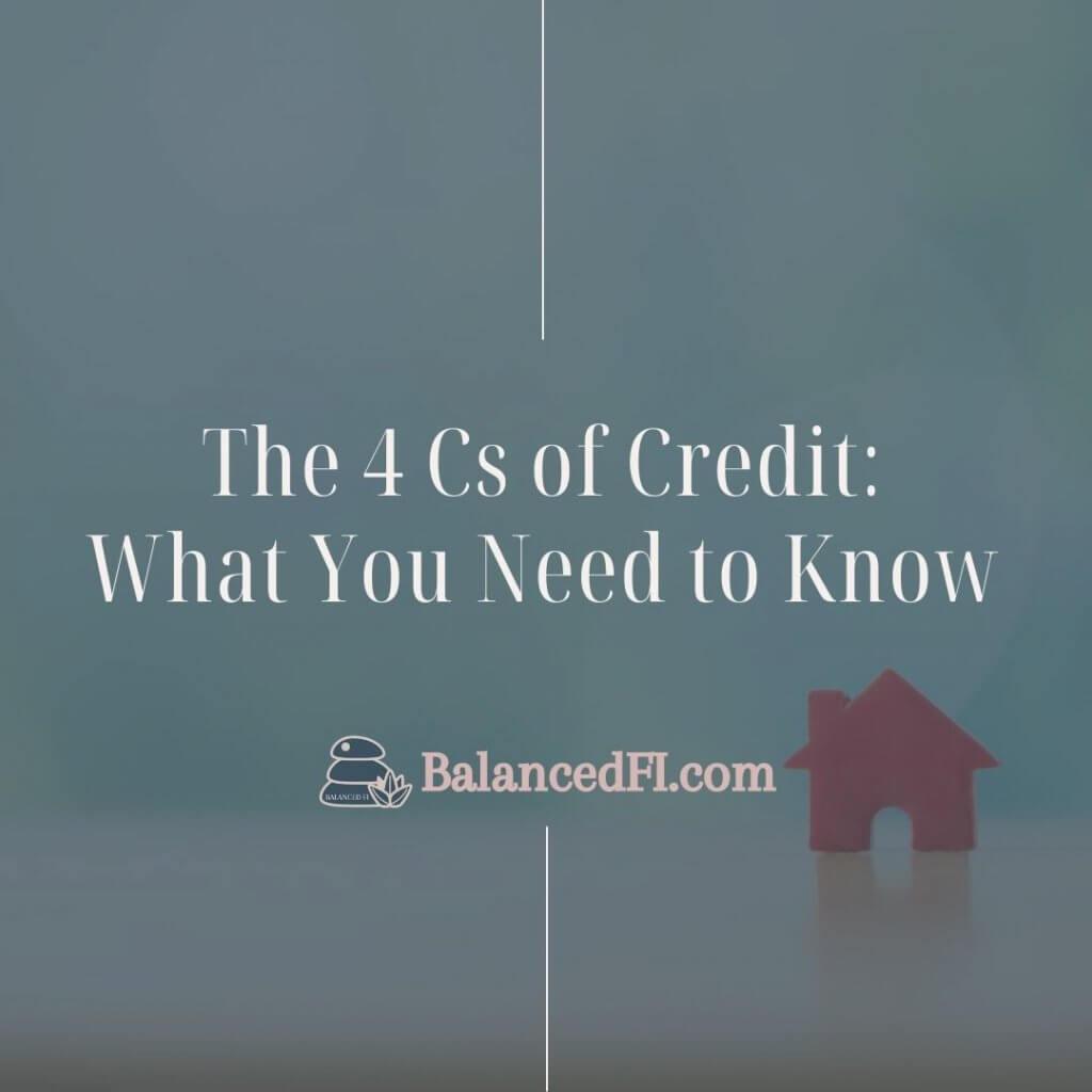 4 Cs of Credit
