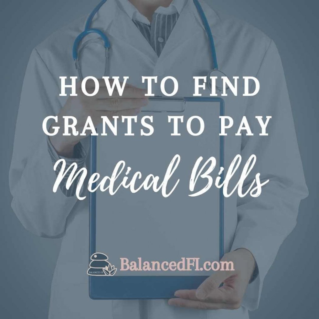 grants to pay medical bills in front of doctor image