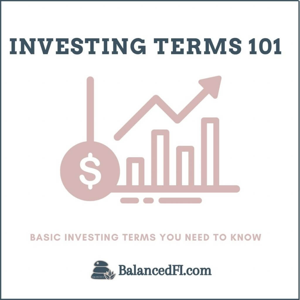 basic investment terms