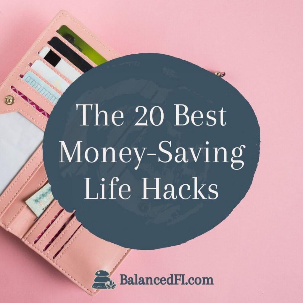 money-saving life hacks