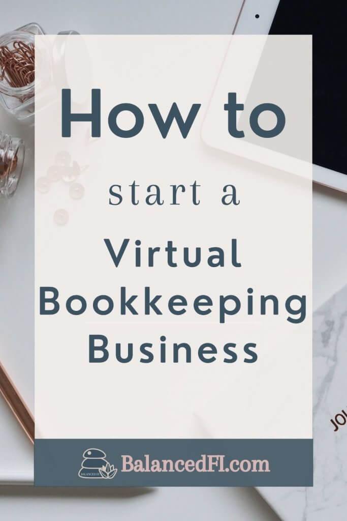 start a virtual bookkeeping business