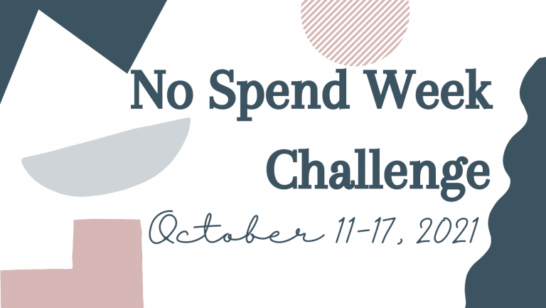 1. No Spend Week Challenge FB cover
